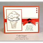 By Debbie Mageed, Sprinkles of Life, Ice Cream, Summer, Stampin Up