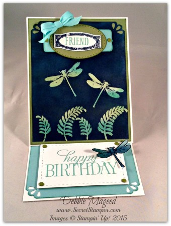 Awesomely Artistic, Happy Birthday Everybody, Easel Card
