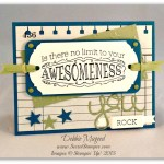 By Debbie Mageed, Big News, Crazy about You, Stampin Up