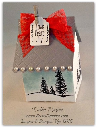 Happy Scenes, A Little Something, Baker's Box, Holiday, Gift Box