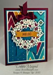 By Debbie Mageed, Circle of Spring, Tin of Cards, Stampin Up