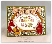 By Debbie Mageed, Thankful Forest Friends, Stampin Up
