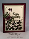 By Debbie Mageed, Summer Silhouettes, Tin of Cards, Stampin Up