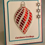 By Debbie Mageed, Warmth & Wonder, Delicate Ornaments, Holiday Christmas, Stampin Up
