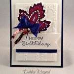 By Debbie Mageed, Lighthearted Leaves, Cottage Greetings, Stampin Up