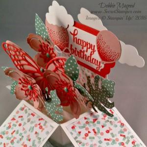 Card in a Box, Botanical Builder Framelits