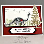 By Debbie Mageed, No Bones about It, Lovely as a Tree, Stampin Up