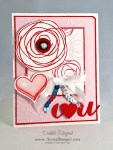 By Debbie Mageed, Snuggles & Smooches, Stampin Up