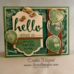 By Debbie Mageed, Balloon Builders, Hello, Stampin Up