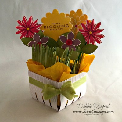 Flower Patch in the Berry Basket for Spring Pals Blog Hop