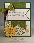 By Debbie Mageed, Flower Patch, Lovely Lace, Stampin Up