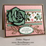 By Debbie Mageed, Going Global, Rose Wonder, Stampin Up