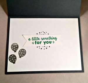 Zoo Babies, Sparkle & Shine, Party Wishes, Stampin Up Inside