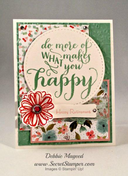 Hello Life, Teeny Tiny Wishes, Bravo, Flower Shop, Stampin Up