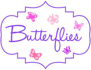 Make My Monday butterflies