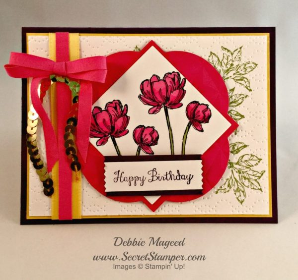 Bloom with Hope, Stampin Up