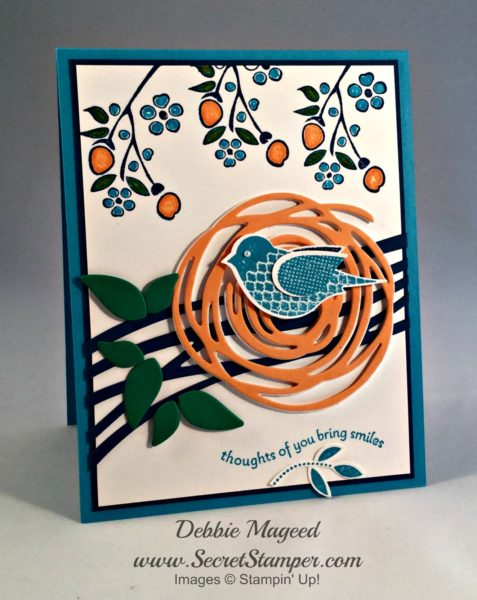 Polka-Dot Pieces, Bordering on Romance, Swirly Scribbles, Stampin Up