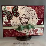 By Debbie Mageed, Designer Tin of Cards, Stampin Up, swap
