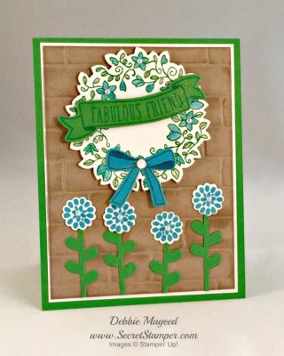 Stampin Up! Banners for You and the Circle of Spring