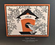 By Debbie Mageed, An Open Heart, Best Birds, Thoughtful Banners, Stampin Up