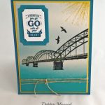 Stampin' Up! Wherever You Go CAS Masculine Card