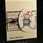 By Debbie Mageed, Merry Mice, Holiday Christmas, Stampin Up