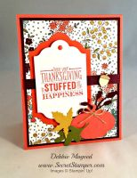 Retro Rubber Be Thankful and Mingle All the Way with Stampin' Up!