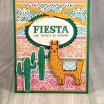 It's a Stampin' Up! Birthday Fiesta!