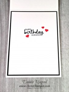 By Debbie Mageed, Beautiful You, Carried Away, Stampin Up