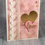 By Debbie Mageed, Sealed with Love, Love Notes Framelits, Valentines Day, Stampin Up