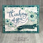By Debbie Mageed, Time of Year, Vintage Vogue, Vintage Verses, Birthday, Thinking of You, Stampin Up
