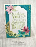 By Debbie Mageed, Big on Birthdays, Avant Garden, Glimmer Paper Assortment Pack, Sale-A-Bration, Stampin Up