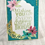 Stampin' Up! Avant Garden is So Big on Birthdays