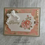 By Debbie Mageed, Bordering on Romance, Flourishing Phrases, Thoughts & Prayers, Sympathy, Stampin Up