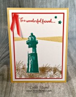 High Tide and Birthday Blast Card for Our Special Friend