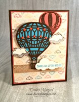 Stampin' Up! Lift Me Up and Take Me Up & Away