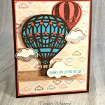 By Debbie Mageed, Lift Me Up, Up & Away Thinlits, Stampin Up
