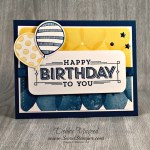 By Debbie Mageed, Super Duper, Balloon Celebration, Balloon Adventures, Masculine, Stampin Up