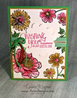 Bloom with Hope & Better Together for a Retro Rubber Flower Challenge