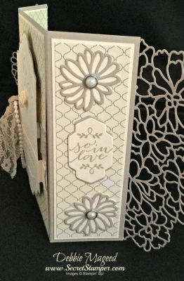By Debbie Mageed, Love & Laughter, So In Love, That's the Tag, Wedding, Stampin Up