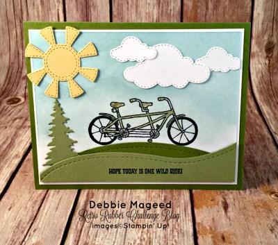 This Pedal Pusher is One Wild Ride with Stampin' Up!