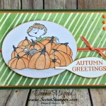 A Boy with Pumpkins Gets a Seasonal Lantern with Stampin' Up!