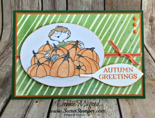 By Debbie Mageed, Seasonal Lantern, Painted Autumn, Stampin Up