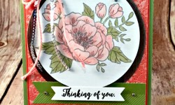 By Debbie Mageed, Birthday Blooms, Colorful Seasons, Stampin Up