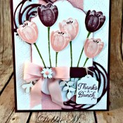 Tranquil Tulips Make a Beautiful Bouquet from Stampin' Up!