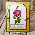 Fabulous Florets and Five for All Together for a Birthday Card