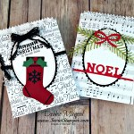 By Debbie Mageed, Label Me Pretty, Labels to Love, Holiday, Christmas, Mini Treat Bags, Gift Card Holder, Stampin Up