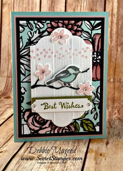 By Debbie Mageed, Petal Palette, Birthday, Stampin Up
