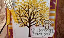 By Debbie Mageed, Sheltering Tree, Zoo Babies, Petal Palette, Tutti Frutti, Stampin Up