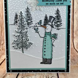 By Debbie Mageed, Snow Much Fun, Lovely as a Tree, Ribbon of Courage, Happy Scenes, Winter, Holiday, Stampin Up